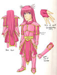 Adeline Ethelson Armor Design