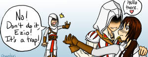Ezio's Womanizing