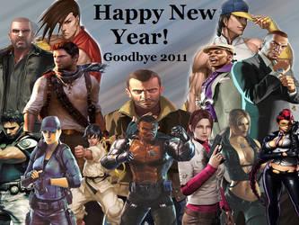 Happy New Year Seeya 2011 by dirtscan