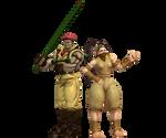 Rolento And Ibuki
