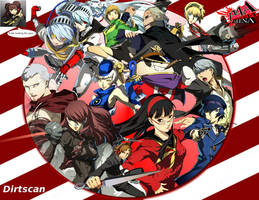 Persona 4 Arena WP by dirtscan
