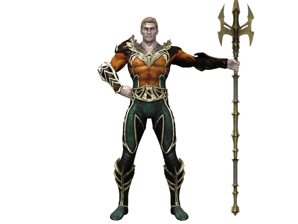 Injustice Aquaman Dirtscan Deviantart