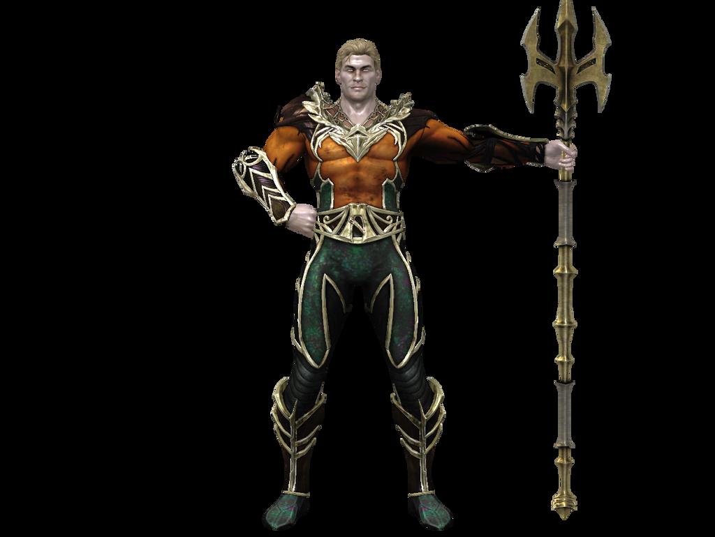 Injustice Aquaman Dirtscan Deviantart