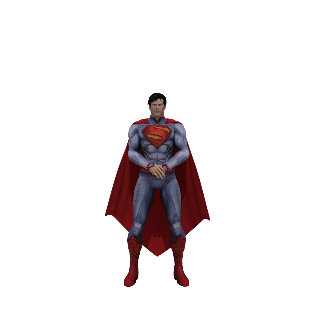 Injustice Superman (New 52) transparent by dirtscan on ...