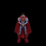 Injustice Superman (New 52) transparent