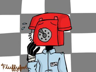 Phone Guy by Fluffyfool
