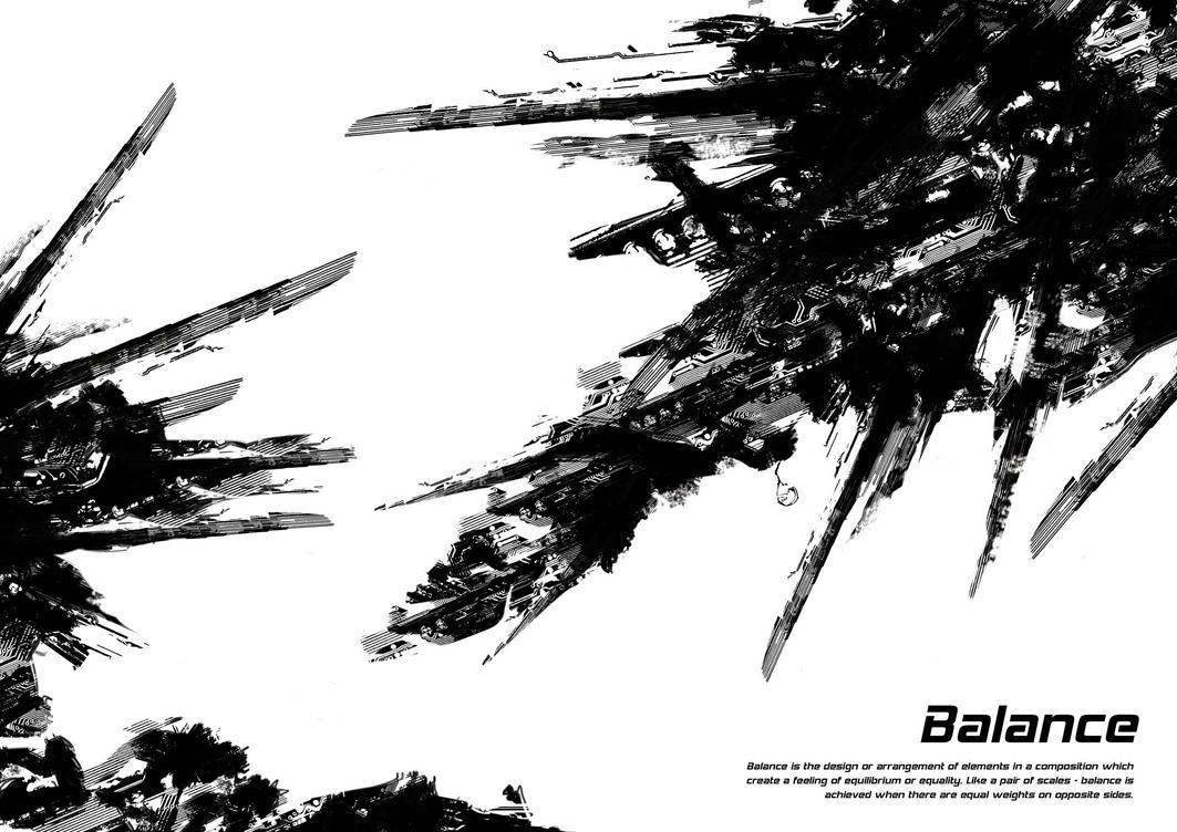 Balance Element Of Art : Elements of design balance by leighbardsley on deviantart