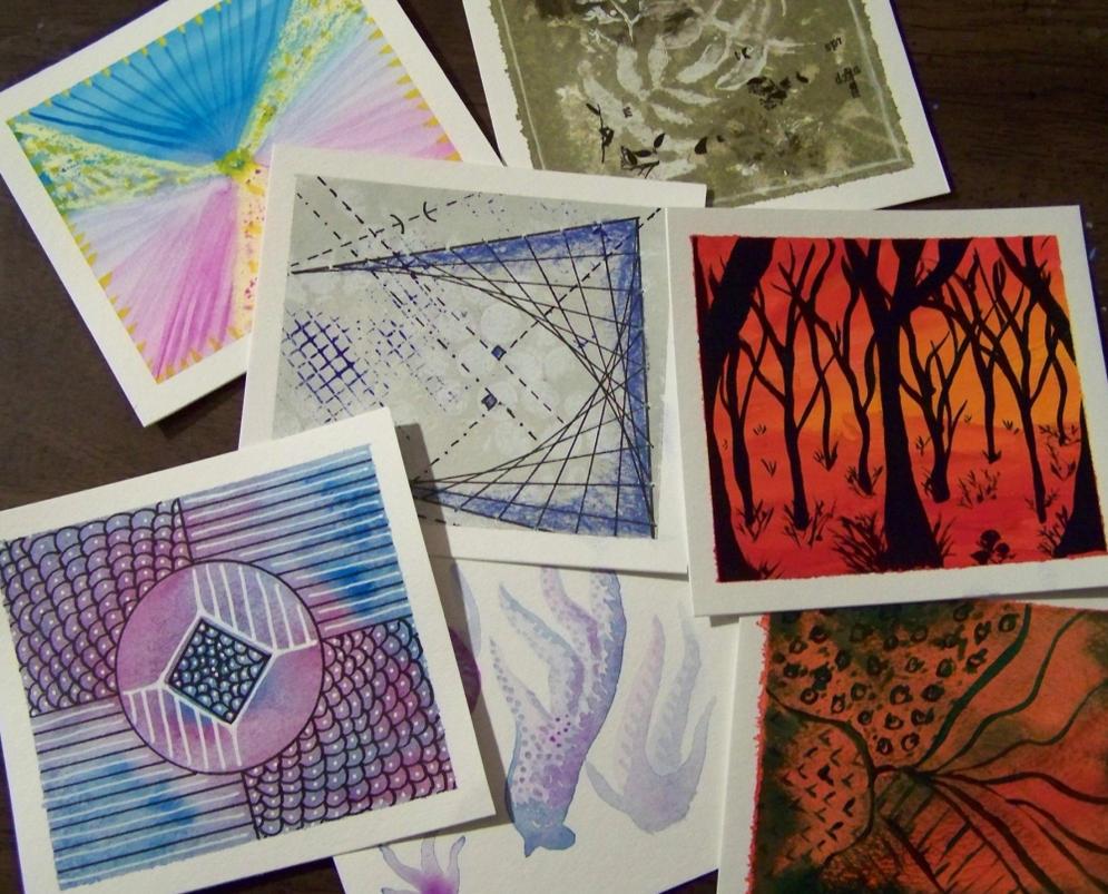 Week 2 Art Cards by mirroreyes1