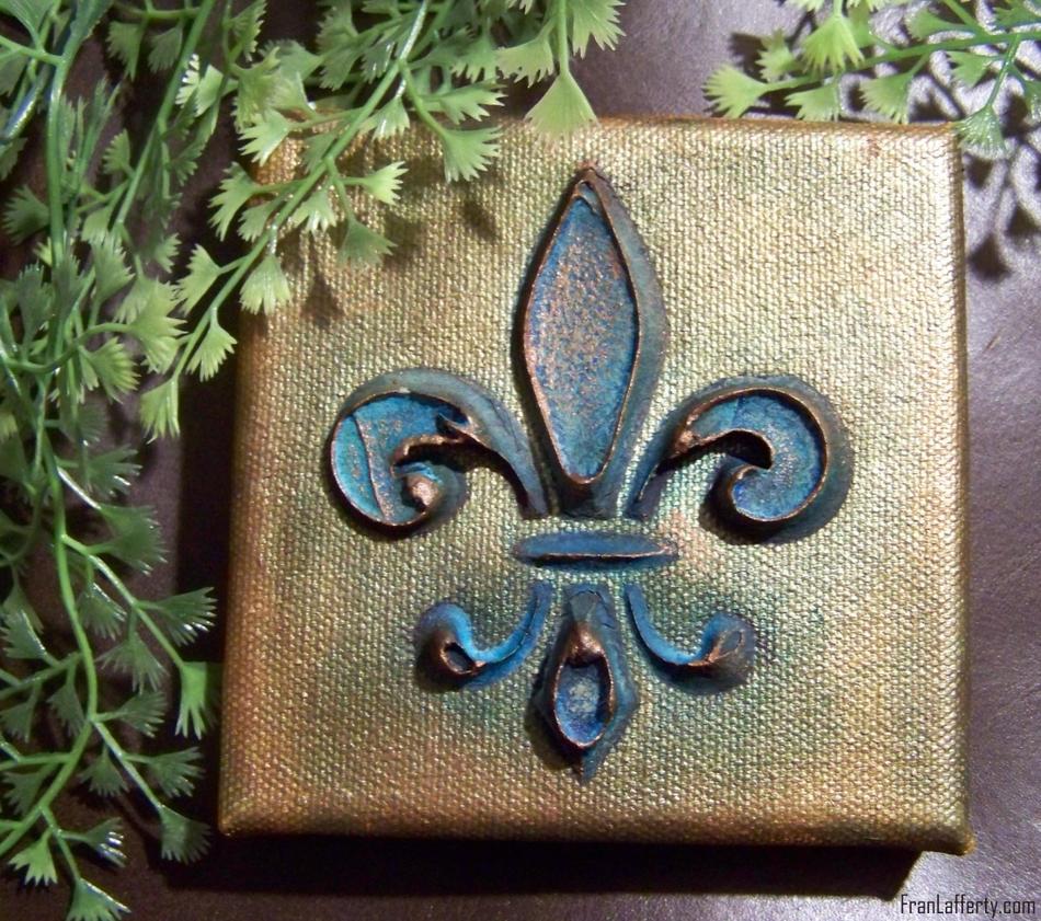 Copper Fleur-de-Lis by mirroreyes1