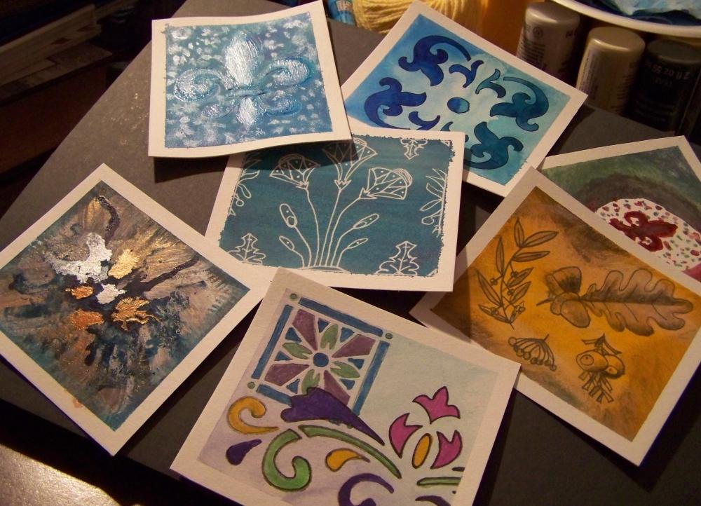 Week 5 Art Cards by mirroreyes1