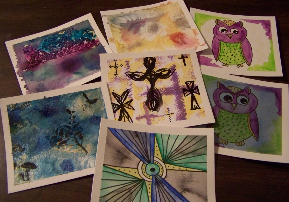Week 6 Art Cards by mirroreyes1
