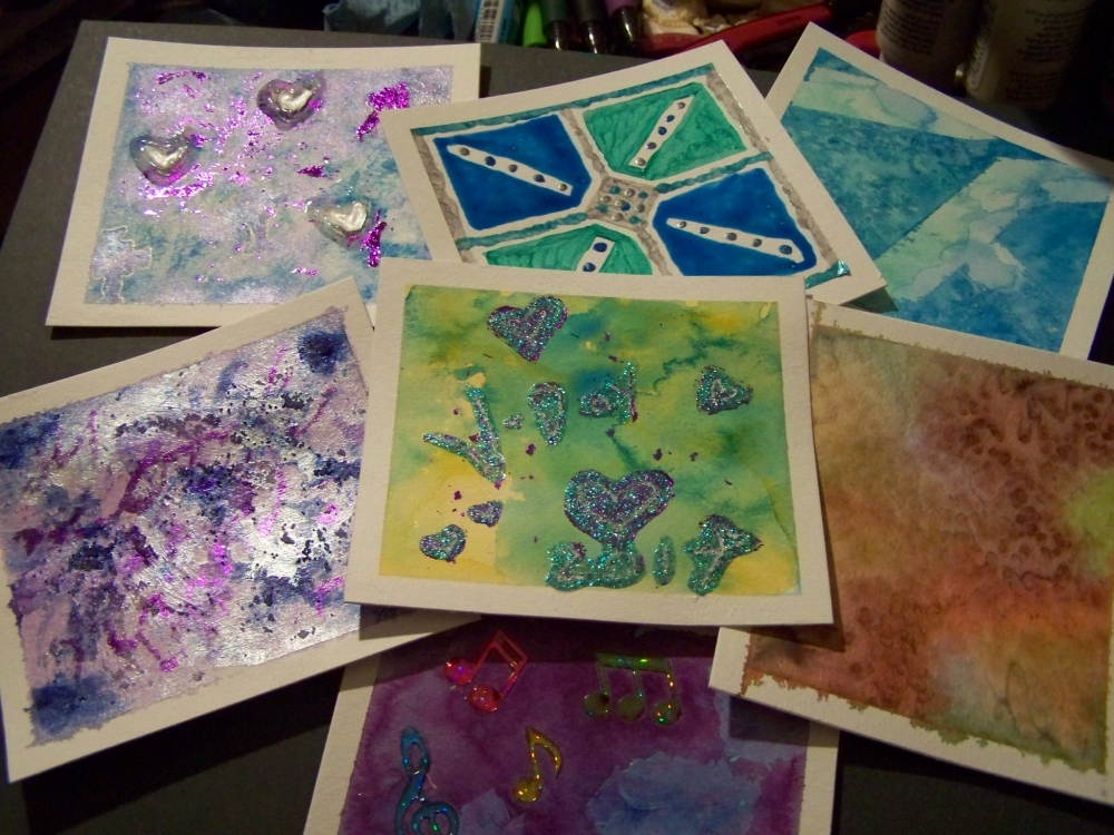 Week 7 Art Cards by mirroreyes1