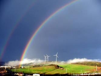 rainbow by ajvf
