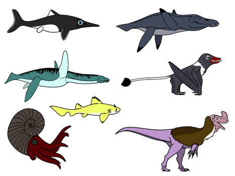 Walking With Dinosaurs - Cruel Sea