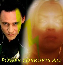 Loki/Bad Wolf - Power by RoseBadWolfTyler