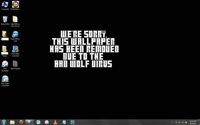Wallpaper for BAD WOLF DAY