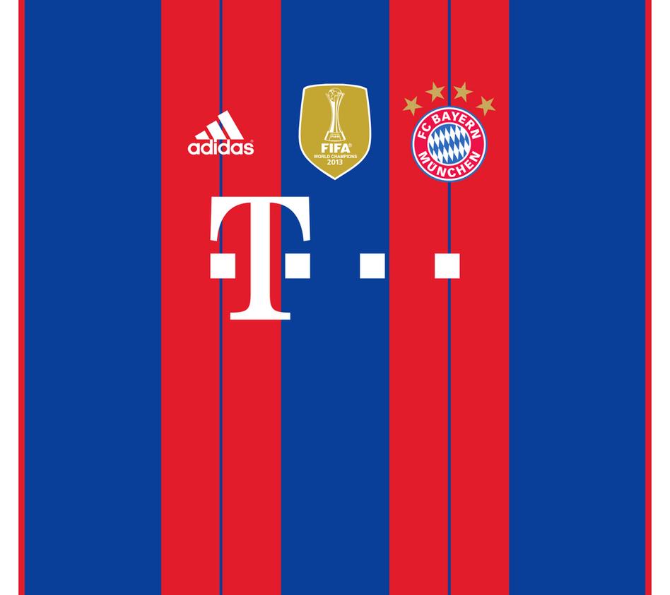 FC Bayern Munich Home Kit Wallpaper By The27thFalkon