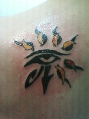 eye of horus tattoo. Eye Of Horus Tattoo. eye of