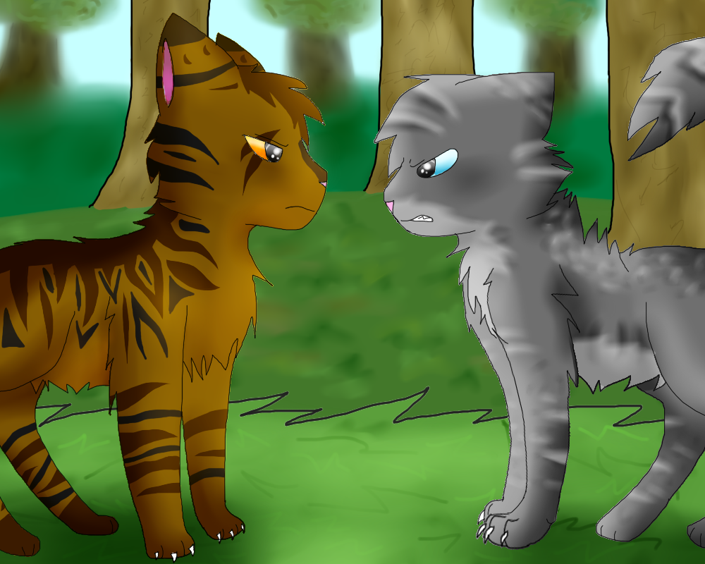 Warrior Cats Squirrelflight And Ashfur
