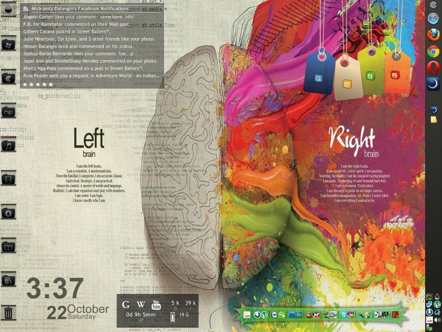 Left vs. Right mod by nickpotz