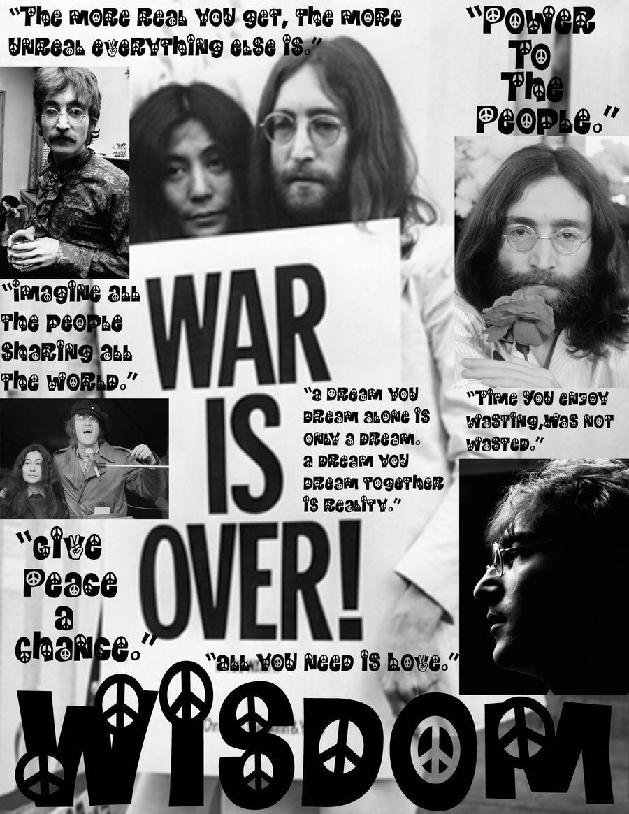 John Lennon Digital poster