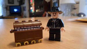 Terry Pratchett and The Luggage