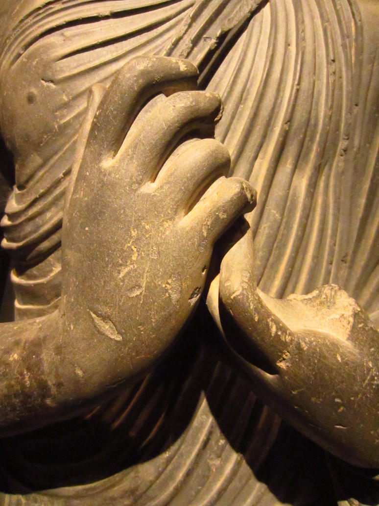 Hands of Stone - Buddha by Cao