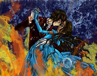 Dancing flames by keiko86