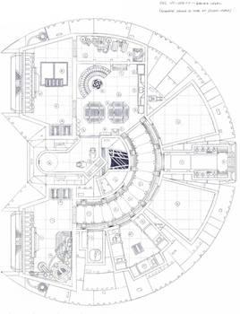 YT-1500FP Schematic, Lower Deck