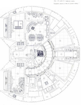 YT-1500FP Schematic, Lower Deck