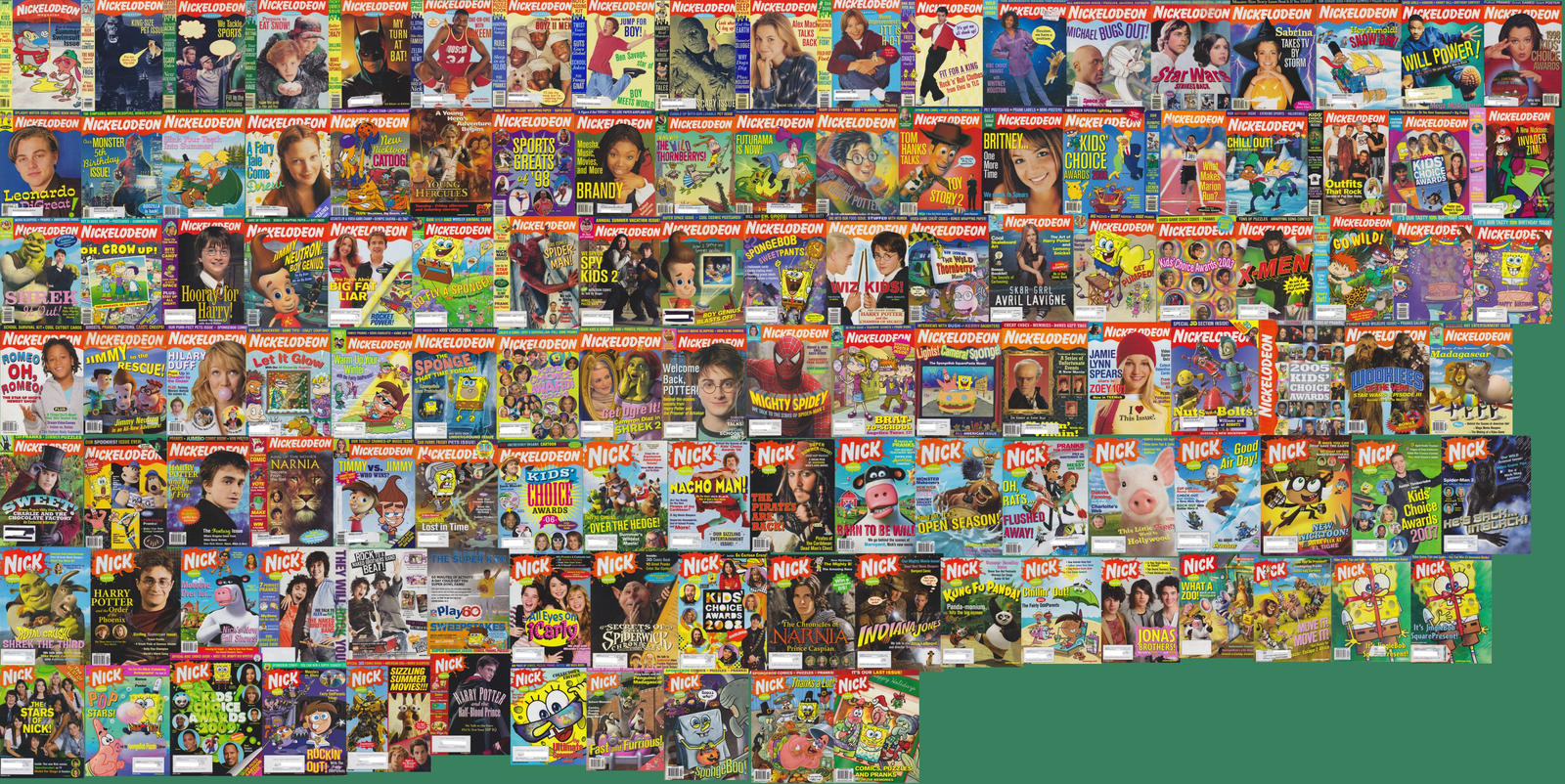 My Nickelodeon Magazine Library 12 8 12 342087422 on old cartoon network in 2007
