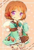 Valentine Hanayo! by suminoio