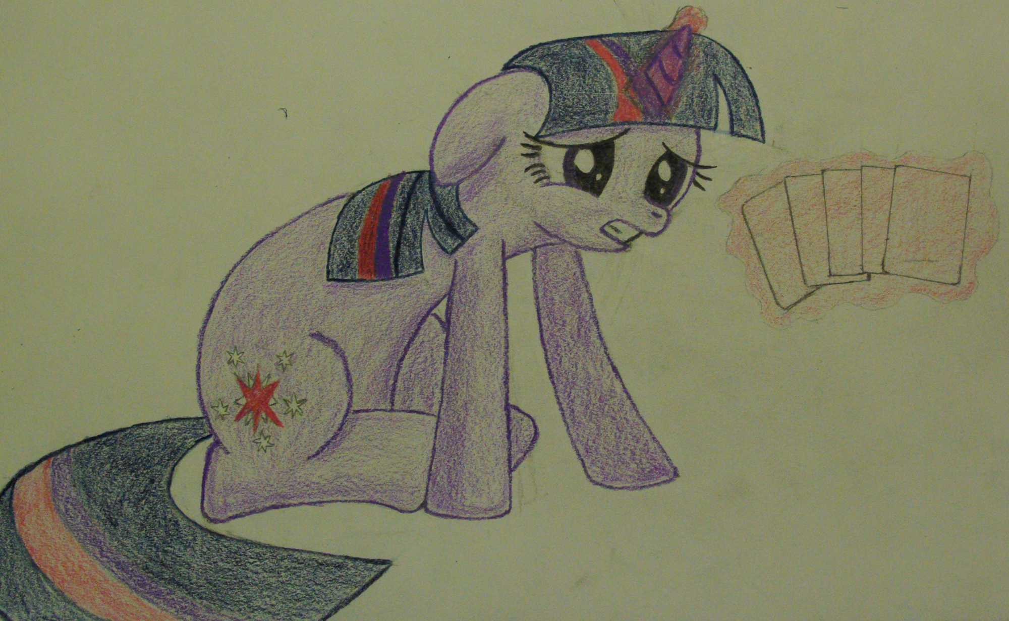 Twilight Really Needs To Work On Her Poker Face