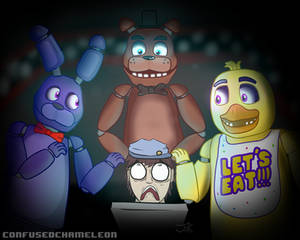 Surrounded! - FNAF REDRAW