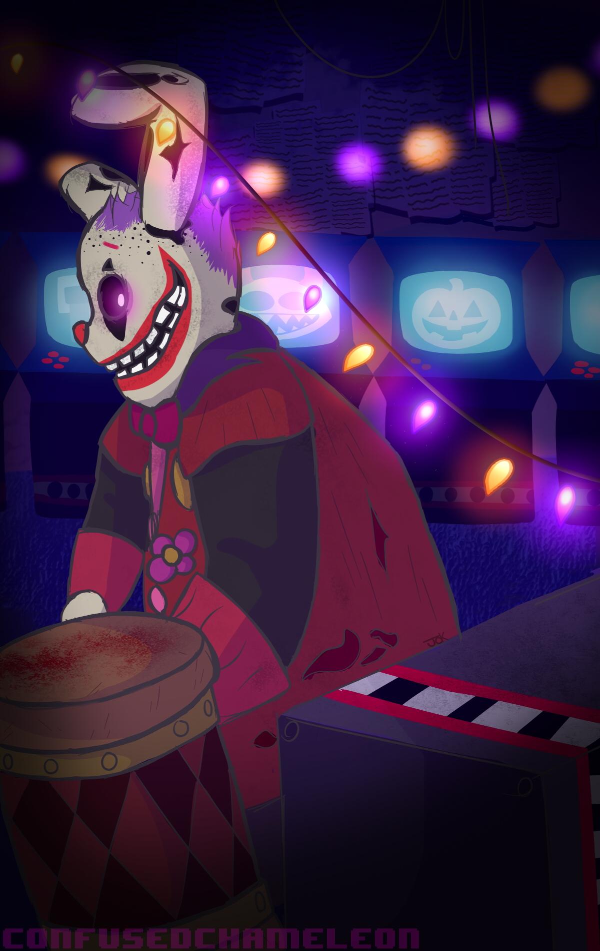 WHERE ARE YOU?! - Clown Springtrap FNAF