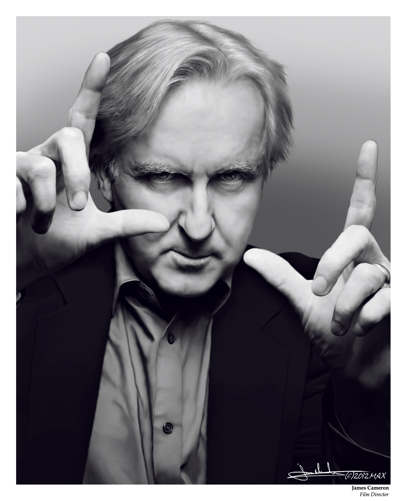 James Cameron: James Cameron By MaxHitman On DeviantArt