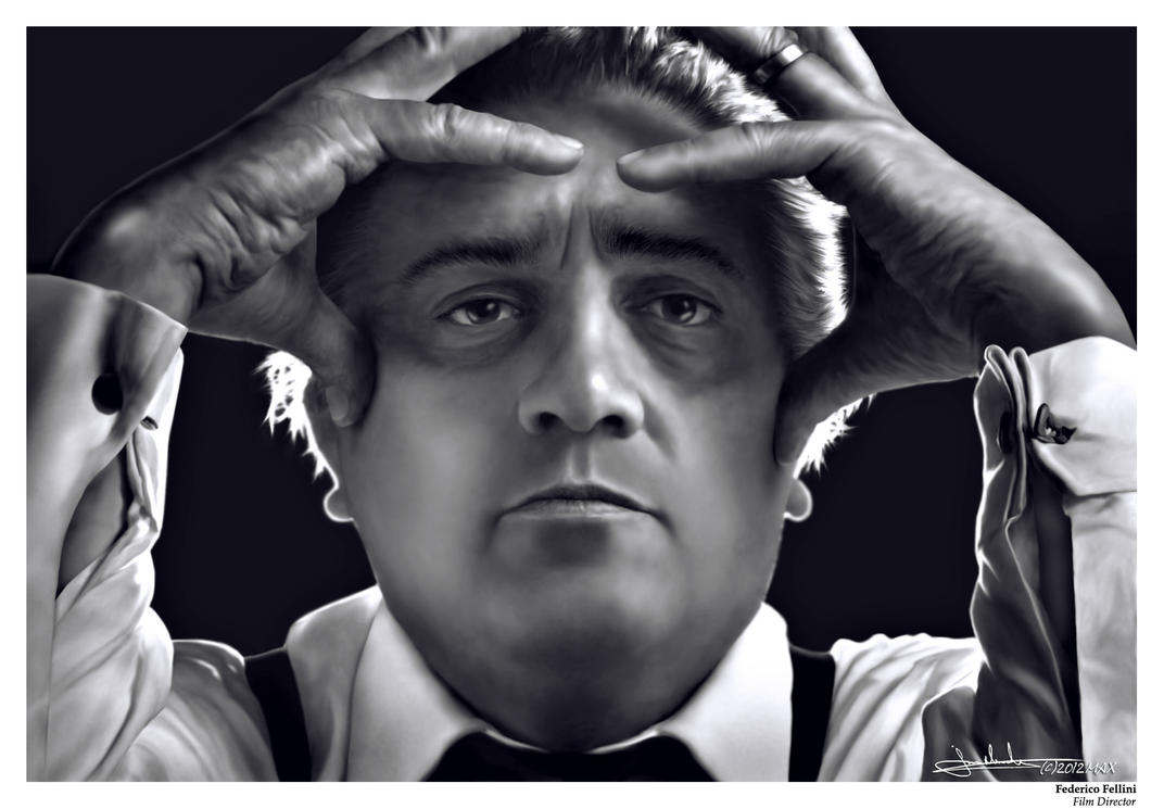 Federico Fellini by MaxHitman