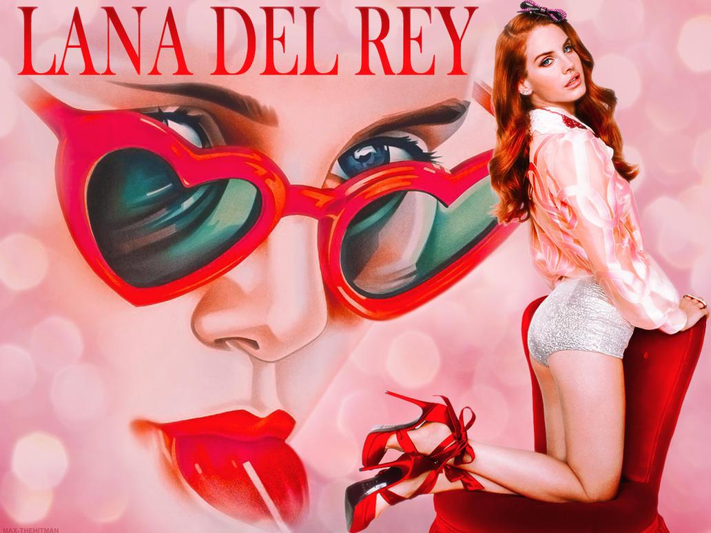 Lana Del Rey - Lolita by MaxHitman