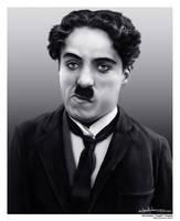 Charlie Chaplin by MaxHitman