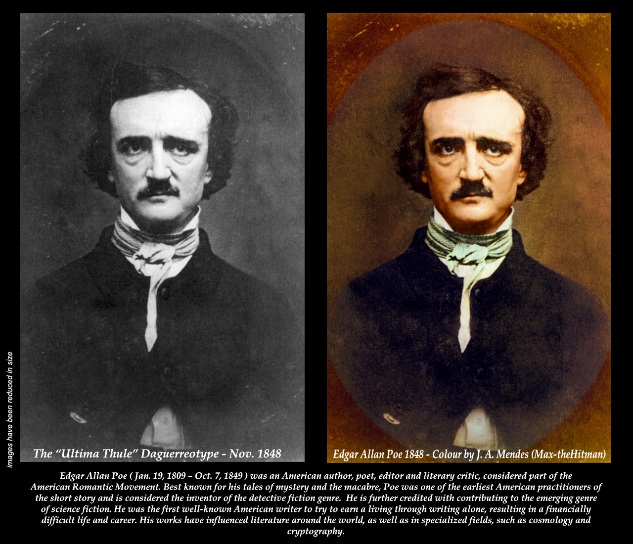 the question of whether edgar allan poe was a madman or a literary genius