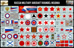 RUSSIA Air Force Roundel 1914 - Today