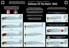 Luftwaffe Defense of the Reich 1943 by MaxHitman