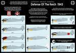 Luftwaffe Defense of the Reich 1943