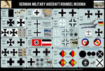 German Air Force Roundels History 1913-Today