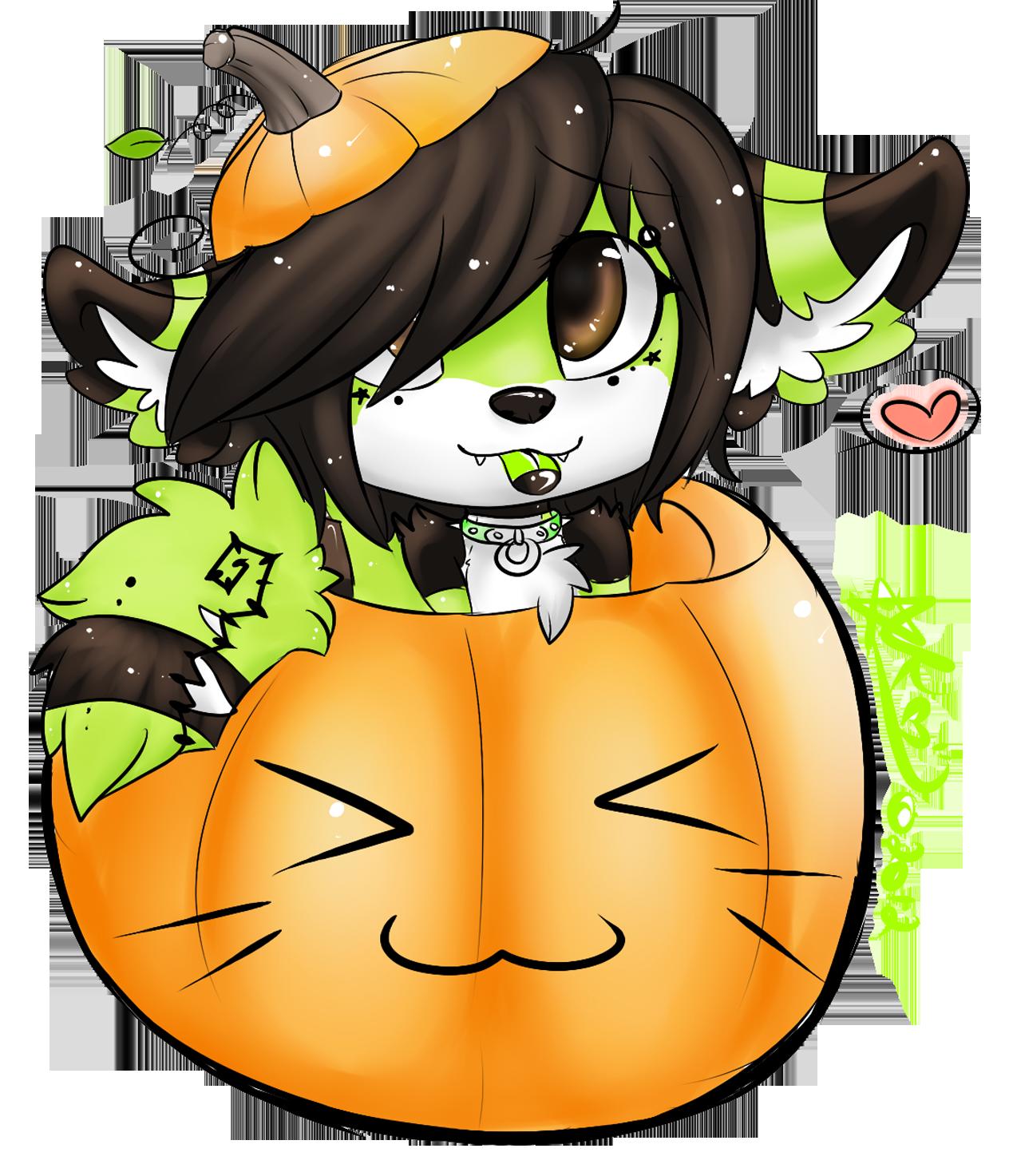 Pumpkin Midori yo by saltwaterPixels