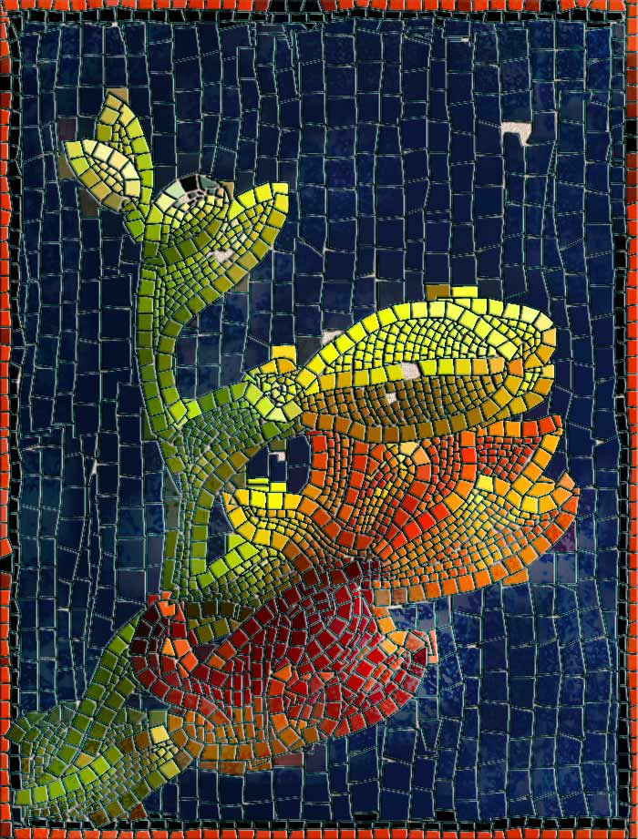 Flores en mosaico by montevideo-1 on DeviantArt