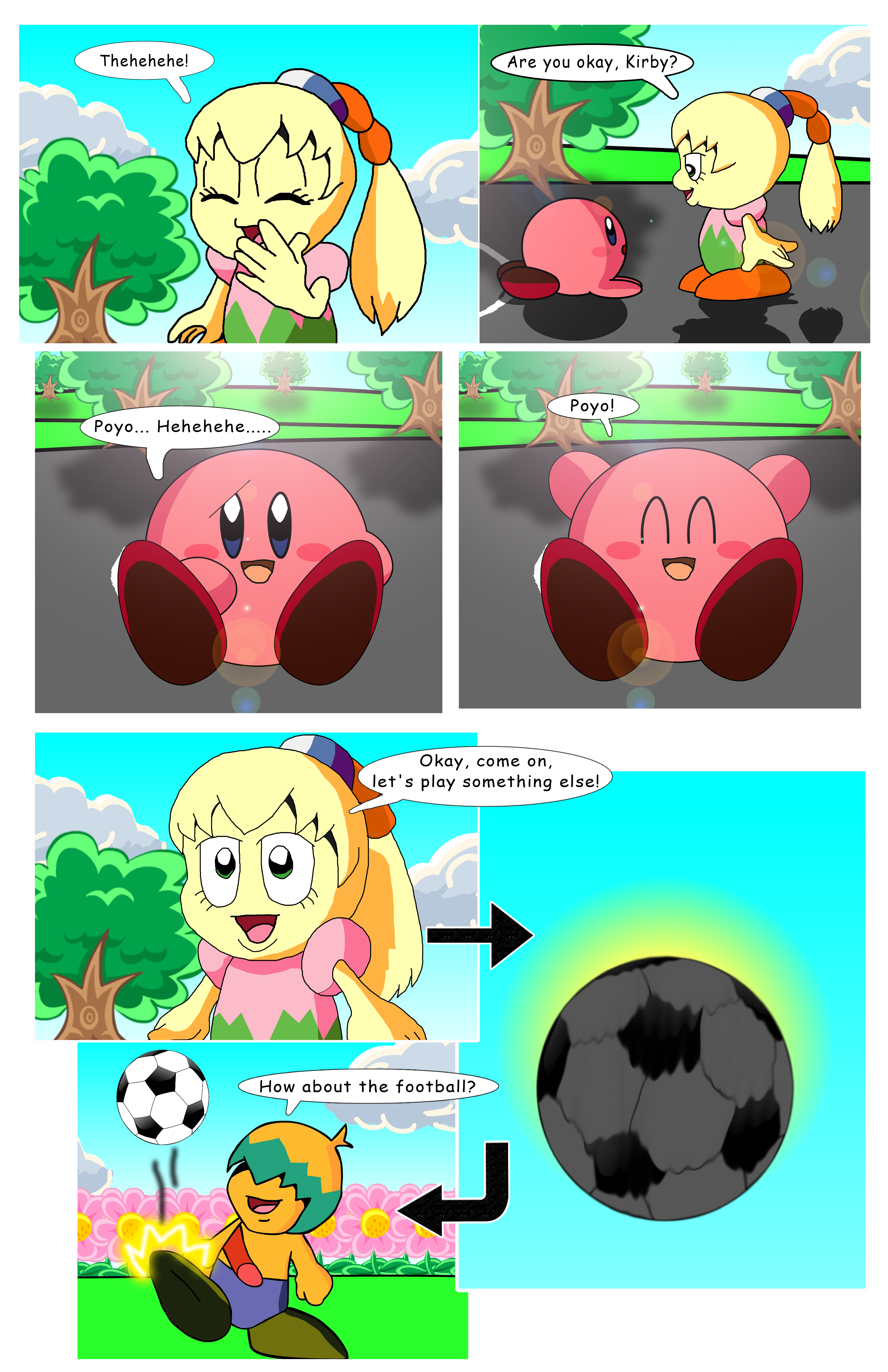 Kirby - WoA Page 9 by KingAsylus91