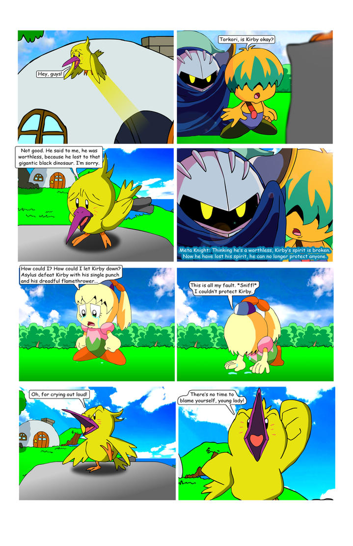 Kirby - WoA Page 56 by KingAsylus91