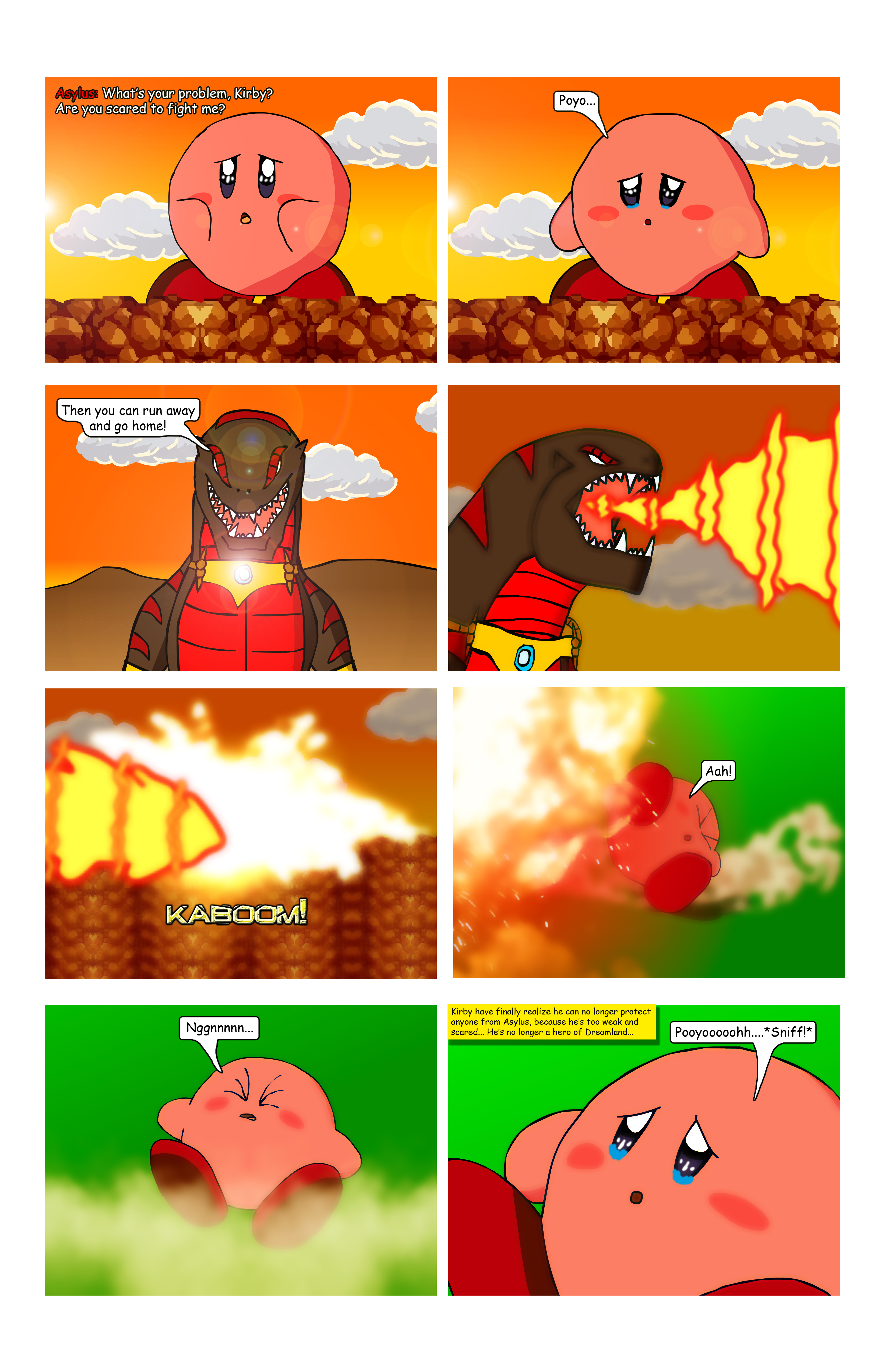Kirby - WOA Page 95 by KingAsylus91
