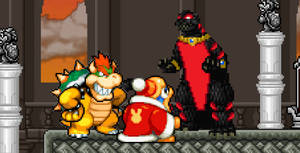 Asylus joined Bowser and Dedede